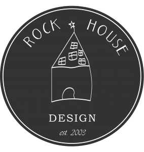 rock house design logo